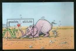 Namibia 2000 Yoka Etosha Cartoon Snake Reptiles Elephant M/s Sc 977 MNH # 13093 - Namibia (1990- ...)