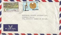 Mauritius 1978 Port Louis Health Penicillin Alexander Fleming Microscope Cover - Mauritius (1968-...)