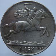 Albania 1 Lek 1926 R VF - Albania