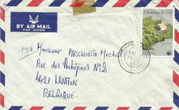Mauritius 1985 Curipipe WWF Pigeon Dove Cover - Mauritius (1968-...)