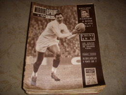 MIROIR SPRINT 762 09.01.1961 RUGBY FRANCE ECOSSE Le SPORT En CHINE FOOT RENNES - Sport