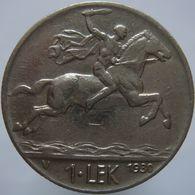 Albania 1 Lek 1930 VF - Albanië