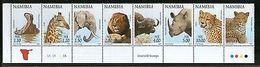 Namibia 1997 Fauna & Flowers Wildlife Animals Birds Parrot Sc 853-70 MNH #13556 - Namibia (1990- ...)