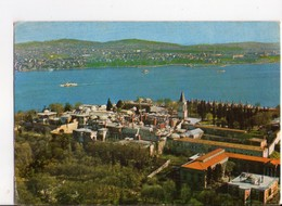 U4450 Postcard ISTANBUL, TURKEY - TOPKAPI SARAYI MUZESI  + NICE STAMP AND TIMBRE - Bollo, Francobollo - Turchia