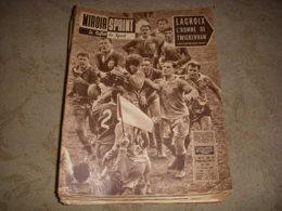 MIROIR SPRINT 769 27.02.1961 RUGBY ANGLETERRE FRANCE FOOT MONACO SKI PERILLAT - Sport
