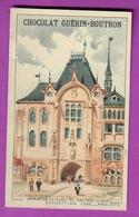 Chromo CHOCOLAT GUERIN BOUTRON - EXPOSITION PROJET 1900 - Le Vieux Paris Entrée De La Place Du Pré Aux Clercs - Guérin-Boutron