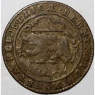 SUISSE - BERNE - KM 91 - 1/2 BATZEN 1785 - OURS - BEAU - - Svizzera