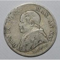 VATICAN - 1 LIRA 1866 R -  AN XXI - TRES BEAU - - Vatican