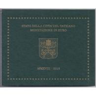 VATICAN - COFFRET EURO BRILLANT UNIVERSEL  2018 - 8 PIECES (3.88 Euros) - BU - Vatican