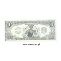 ÉTATS UNIS - 4 DOLLARS 1996 - THE DISMENBERED STATES OF AMERICA - BILLET FANTAISIE - - Small Size - Petite Taille (1928-...)