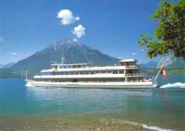 "Fahrgastschiff MS ""Berner Oberland"" Thunersee - Paquebots"