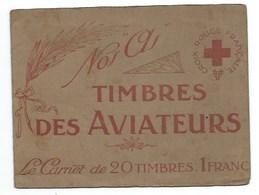 CROIX ROUGE FRANCAISE - COMITE DU RAINCY - TIMBRES DES AVIATEURS - Vieux Papiers