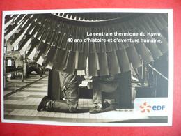 EDF Le Havre 76 Centrale Thermique 40 Ans - Autres