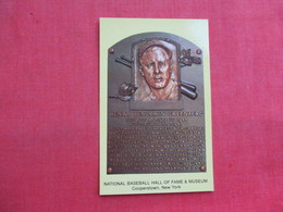 Henry Benjamin Greenberg   Hall Of Fame    Cooperstown NY  >--- Ref 3322 - Baseball