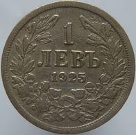 Bulgaria 1 Lev 1925 XF - Bulgaria
