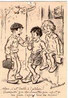 (101)  CPA  Germaine Bouret  Alors C'est Bath (petits Trous Epingle) - Bouret, Germaine