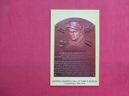James E. {Jimmy} Foxx  Hall Of Fame    Cooperstown NY  >--- Ref 3322 - Baseball
