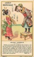 - Chromos -ref-ch568- Debauve & Gallais - G. Hugon - Paris - Tom Tit - Volant Japonais - Physique Amusante - Magie - - Chocolat