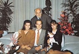 MONACO - Le Prince Souverain Rainier III, Le Prince Héréditaire Albert, La Princesse Caroline, La Princesse Stéphanie - Palacio Del Príncipe