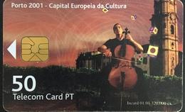 Paco \ PORTOGALLO \ PT294B \ Porto 2001 - 50 Imp. - Música \ Usata - Portogallo