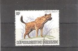 Burundi - Animaux - Y&T 863 - Crocuta Crocuta - Hyène - Obl/gest/used à 8% (à Voir) - Burundi