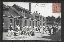 02 SAINT QUENTIN 87ième DE LIGNE EN BAS PELURAGES - Saint Quentin