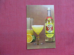 Don Q Puerto Rican Rum Mai Kai Original Recipe   Official Drink Florida Derby -- Ref 3323 - Publicité