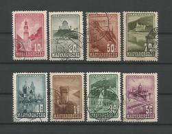 Hungary 1947 Definitives Y.T.  A 58/65 (0) - Airmail
