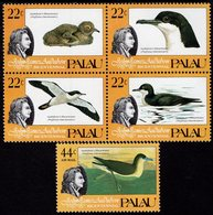 Palau - 1985 - Bicentenary Of The Birth Of John Audubon - Birds - Mint Stamp Set - Palau