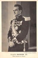 MONACO - S.A.S. Le Prince Souverain Rainier III - Palacio Del Príncipe