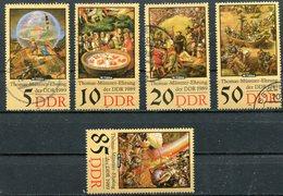DDR Michel-Nr. 3269-3273 Gestempelt - Usati
