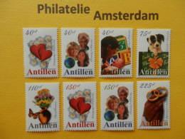 Netherlands Antilles 2000, GREETING STAMPS: Mi 1050-57, ** - Curaçao, Antille Olandesi, Aruba