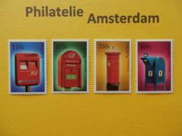 Netherlands Antilles 2000, MAIL BOXES / BRIEVENBUSSEN: Mi 1075-78, ** - Curazao, Antillas Holandesas, Aruba