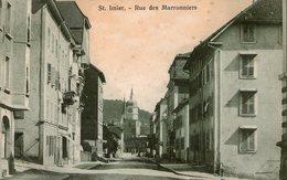 (101)  CPA  Saint Imier  Rue Des Marronniers (Bon Etat) - BE Berne