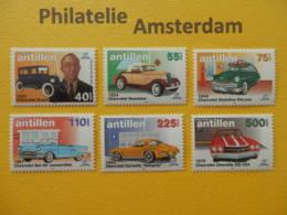 Netherlands Antilles 1998, AUTOMOBILES CARS AUTOS VOITURES: Mi 955-60, ** - Cars