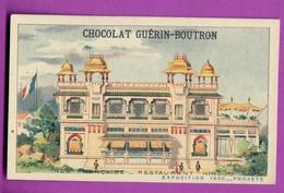 Chromo CHOCOLAT GUERIN BOUTRON - EXPOSITION PROJET 1900 - Inde Française Restaurant Hindou - Guerin Boutron