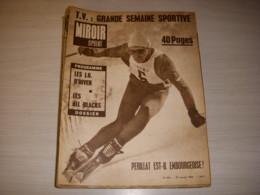 MIROIR SPRINT 921 27.01.1964 SKI PERILLAT JO HIVER RUGBY ALL BLACKS FOOT KOPA - Deportes