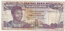 Swaziland 20 Emalangeni 01.04.04 - Swaziland