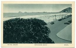 BRAZIL : RIO DE JANEIRO - COPACABANA BEACH - Copacabana