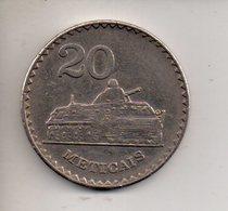 REF 1 : Monnaie Coin Mozambique 20 Meticais Char Militaire - Mozambique