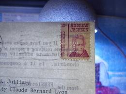Marcophilie  Cachet Lettre Obliteration -  Perforé I Sur Carte   - 1974 (2440) - United States
