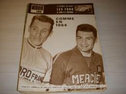 MIROIR SPRINT 1046A 20.06.1966 TdF LISTE PARTANTS AUTO 24h MANS ATHLE JC NALLET - Sport