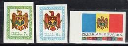MOLDAVIE - N° 1 / 3 **  (1991) - Moldavie