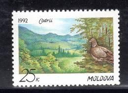 MOLDAVIE - N° 4 **  (1992) Oiseaux - Moldavie