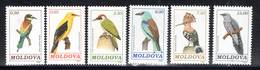 MOLDAVIE - N° 10/15 **  (1992)  Oiseaux - Moldavie