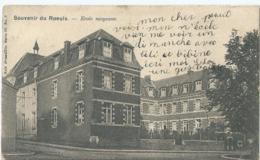 Le Roeulx - Souvenir De Roeulx - Ecole Moyenne - Nels Série 88 No 8 - 1909 - Le Roeulx