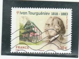 FRANCE 2018 IVAN TOURGUENIEV OBLITERE - Frankreich