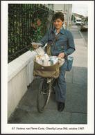 94 - CHEVILLY-LARUE - Facteur Rue Pierre Curie - 1987 - Chevilly Larue