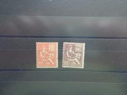 Timbres N° 112 Et 113, Lot 1417 - 1900-02 Mouchon