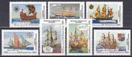 Madagaskar Madagascar Malagasy 1991 Geschichte History Entdeckungen Discovery Kolumbus Columbus Schiffe, Mi. 1316-2 ** - Madagascar (1960-...)